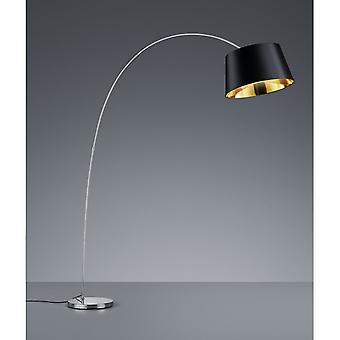 Trio de iluminação lâmpada de assoalho Metal moderno Chrome Linz