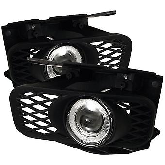 Spyder Auto FL-P-FF15099-HL Ford F150/F150 Heritage/Expedition Clear Halogen Projector Fog Light