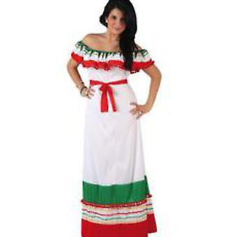 Frauen Frauen Mexican Lady Kleid Kostüm Kostüme