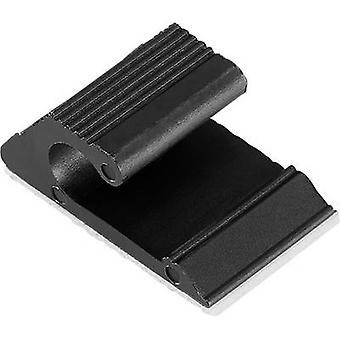 KSS CATV-1 Cable mount Self-adhesive 1456615 Black 1 pc(s)