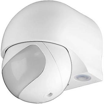 Goobay 95174 Surface-mount PIR rörelsedetektor 180 ° relä vit IP44