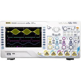Rigol DS4024E Digital 200 MHz 2 GS/s 14 MP 8 Bit Digitaler Speicher (DSO)