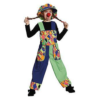Bavaglino pagliaccio Clownkostüm costume per i bambini