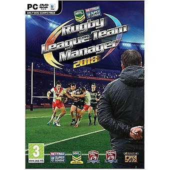 Rugby League Team Manager 2018 PC Game