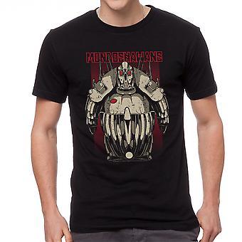 Le cinquième élément Mondoskawans noir T-shirt homme