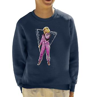 TV Times Debbie Harry Retro Shell Suit 1981 Kid's Sweatshirt