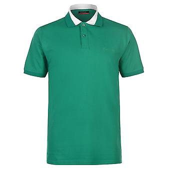 Pierre Cardin Mens Pique Polo camisa clássica Tee apto Top de manga curta algodão