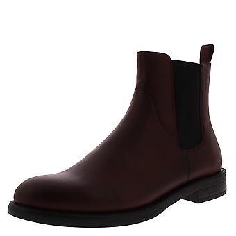 Womens Vagabond Amina Leather Winter Flat Work Closed Toe Ankle Boots