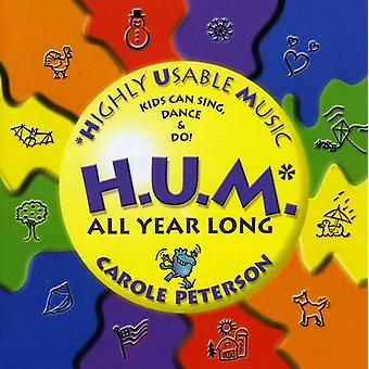 Carole Peterson - H.U.M.-Highly Usable Music All Year Long! [CD] USA import