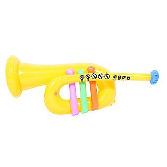 Inflatable trumpet yellow circa 60cm