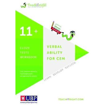 Verbal Ability for Cem 11+ - Cloze Workbook by Teachitright - 97819086