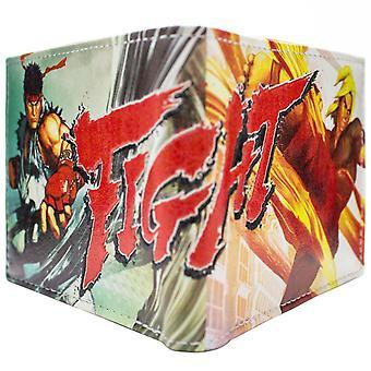 Portafoglio Bi-Fold Capcom Street Fighter 5 Ken Ryu ID & Card