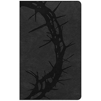 CSB Ultrathin Reference Bible, Charcoal LeatherTouch