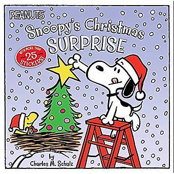 Surpresa de Natal (amendoim) do Snoopy