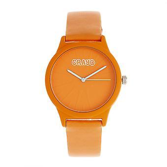 Crayo splat Unisex klocka-orange