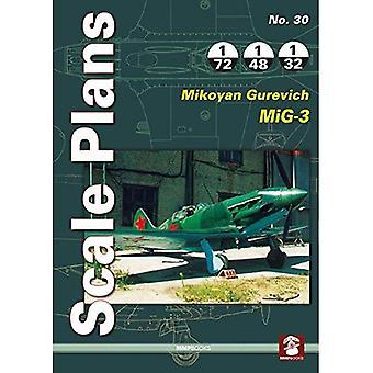 Scale Plans No. 30: Mikoyan Gurevich MiG-1/MiG-3