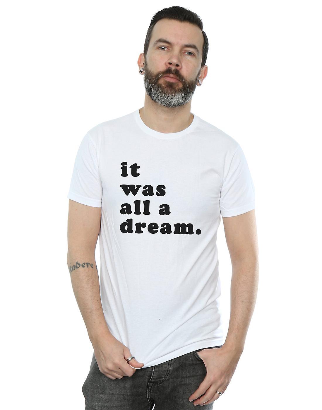 Notorious BIG Men's Dream Text T-Shirt