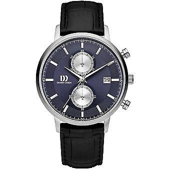 Dansk design mens watch TIDLØS COLLECTION chronograph IQ22Q1215 - 3314561