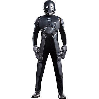 Star Wars K 2SO barn kostume