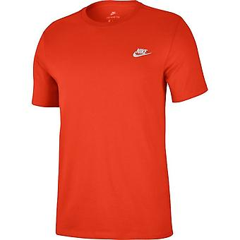Nike Club EMB 827021891 universaali koko vuoden Miesten t-paita