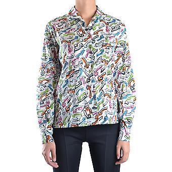 Miu Miu Ezbc057005 Mujer's Camisa multicolor algodón