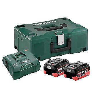 Metabo Basic-Set 2x LiHD 8.0Ah Battery Kit