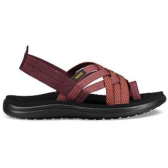 Teva Womens Voya Strappy Quick Dry Toe Post Summer Sandals