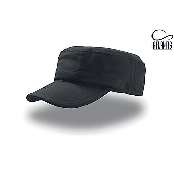 Atlantis Tank Brushed Cotton Military Cap (Pack of 2)
