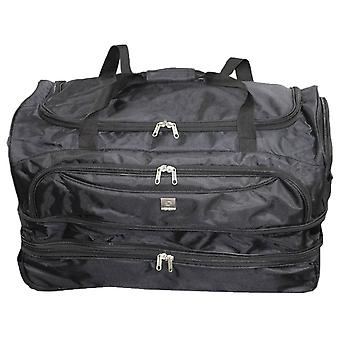 Rallegra Large Wheeled Duffle Bag - Black