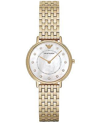 Emporio Armani Ar11007 Yellow Gold Ladies Watch