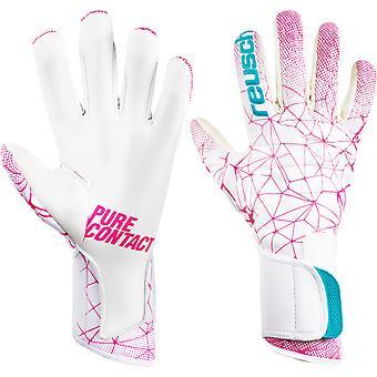 Reusch Pure Contact II Pink Goalkeeper Gloves