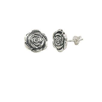 Eternal Collection Joy Sterling Silver Stud Pierced Earrings