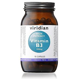 Viridian High Potency Vitamin B3 Capsules 90 (212)