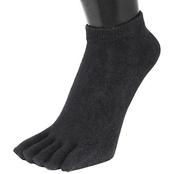 TOETOE Everyday Trainer Toe Socks - Black