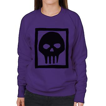 The Phantom Skull Ring Logo Women's Sweatshirt