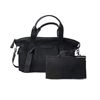 Leather and nylon bag Storksak - Black Bugaboo