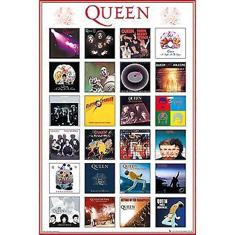 Queen Album Covers Poster
