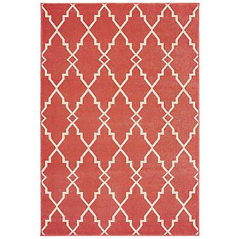 Barbados 5996s pink/ ivory indoor/outdoor rug rectangle 9'10