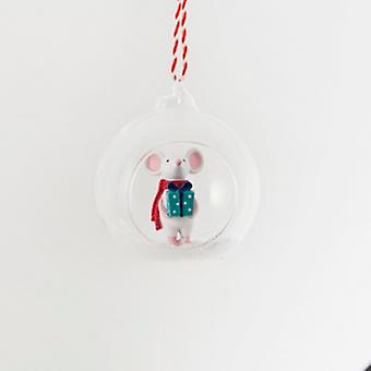 Sass and Belle Open Glass Mouse Bauble | Gifts From Handpicked