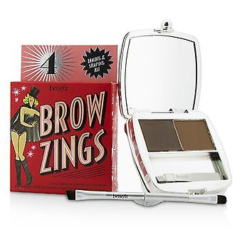 Benefit Brow Zings (total Taming & Shaping Kit For Brows) - #4 (medium) - 4.35g/0.15oz