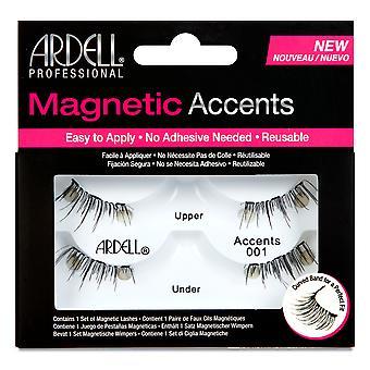 Ardell magnetic accent Lash #001 pentru femei