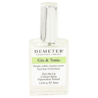 Gin & Tonic av Demeter Köln Spray 1 oz/30 ml (menn)