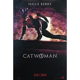 Catwoman (Double Sided Advance) Original Cinema Poster