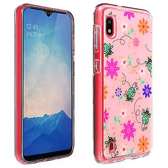 Full Protective Case for Samsung Galaxy A10 Shockproof Bee Design-Pink