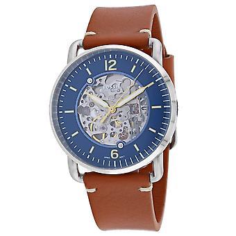Fossil Men's Neutra Blue Dial Watch - ME3159