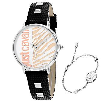 Just Cavalli Women's Zebra Silver Dial Watch - JC1L077L0015
