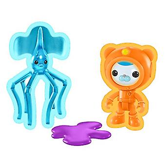Octonauts Figure And Creature Pack - Barnacles & The Long Armed Squid