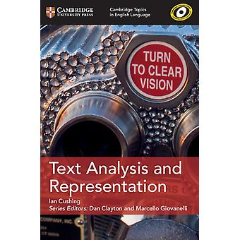 Text Analysis and Representation by Ian Cushing