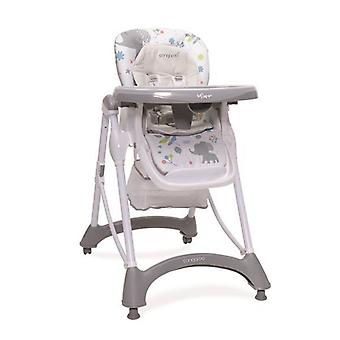 High chair Mint, double dining table, height adjustable, additional seat cushion