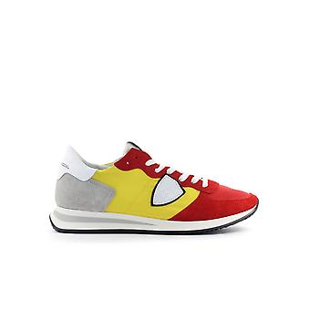 PHILIPPE MODEL YELLOW RED POP 90 TRPX MONDIAL SNEAKER